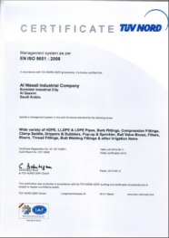 TUV NORD ISO 9001 : 2008