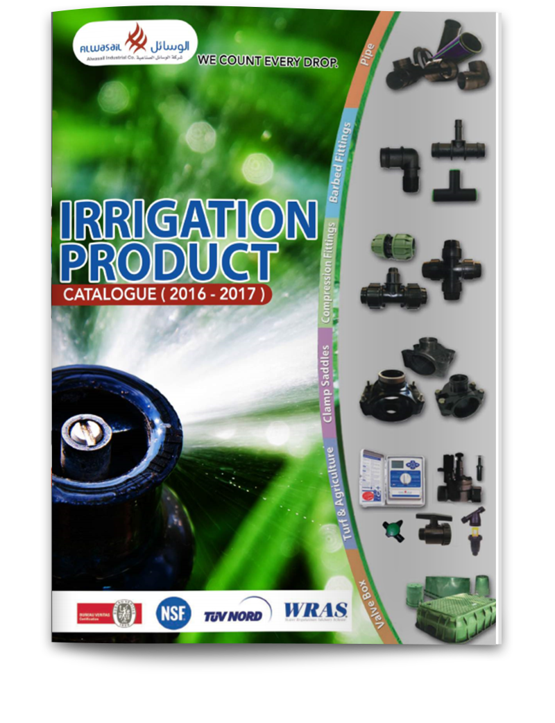 Alwasail Irrigation Catalog 2016-2017 - Alwasail Industrial Company