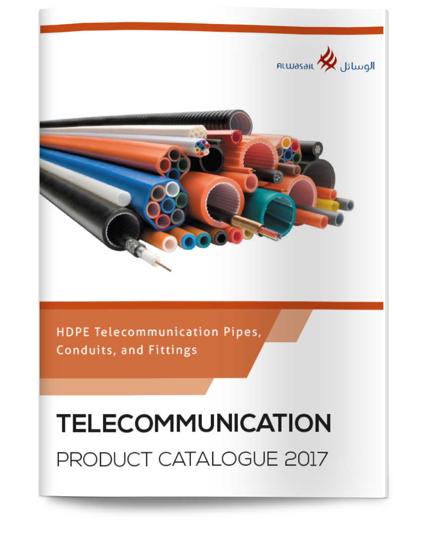 Alwasail Industrial Company - Product Catalog for Telecommunication Products - Ducts, Pipes, and Fittings.